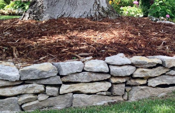 Natural Stone Edging Ideas