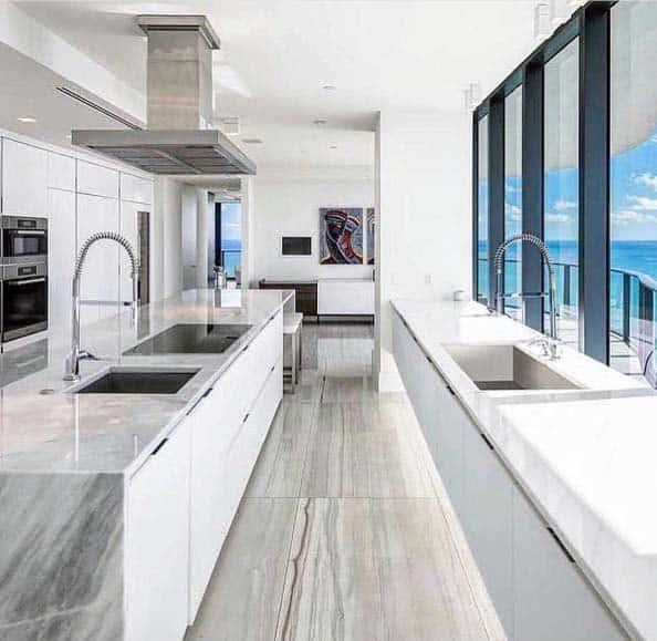 Natural Stone Home Interior Kitchen Tile Floor
