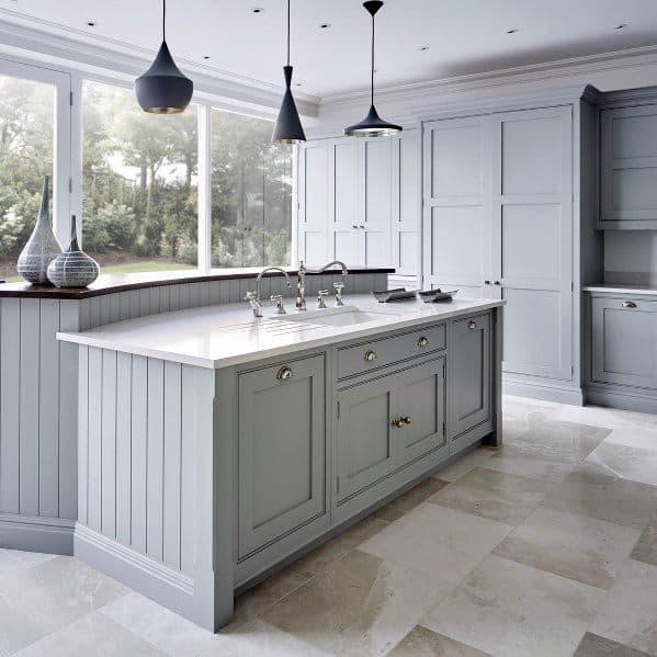 Natural Stone Kitchen Flooring Ideas