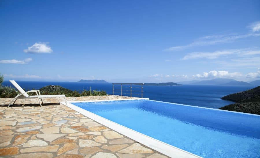 Natural Stone Pavers Pool Deck Ideas 3