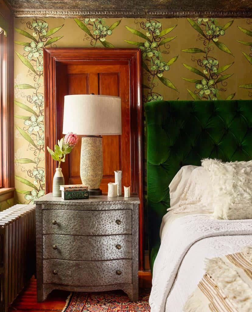 nature inspired bedroom wallpaper ideas designerkati
