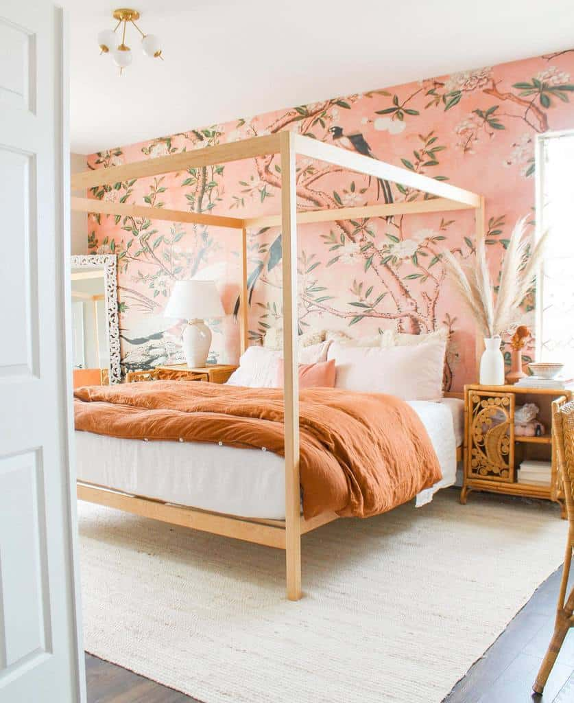 nature inspired bedroom wallpaper ideas dreaming_of_decor