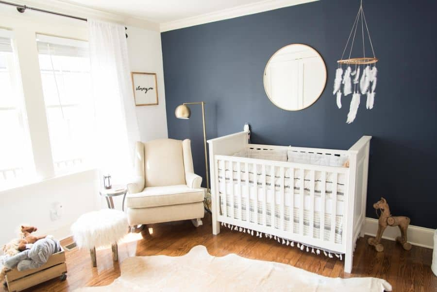 Nature Inspired Boho Baby Room Ideas 1