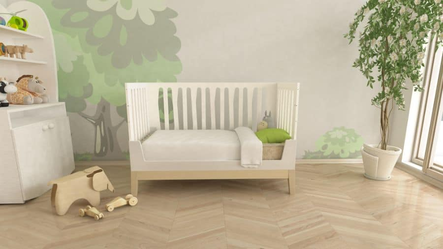 Nature Inspired Boho Baby Room Ideas 3