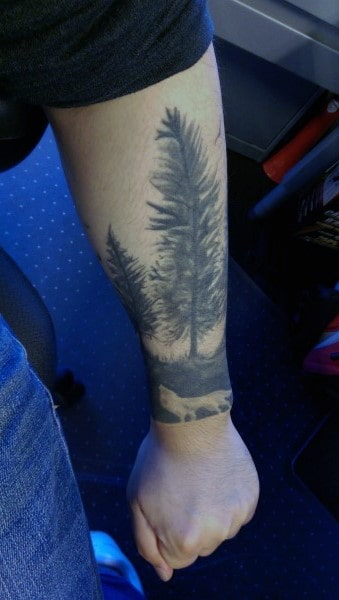 Nature Wrist Tattoo Ideas For Men