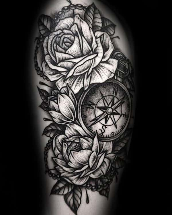 100 Peony Tattoo Designs For Men Flower Ink Ideas