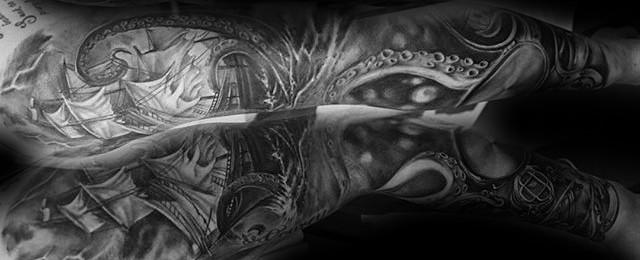 Nautical Sleeve Tattoos For Men