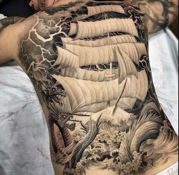 120 full back tattoos for men masculine ink designs