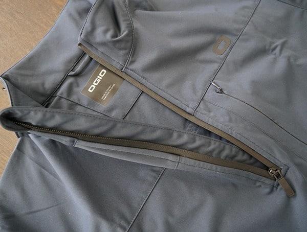 Navy 1 4 Zip Ogio All Elements Strech Wind Jackets For Men