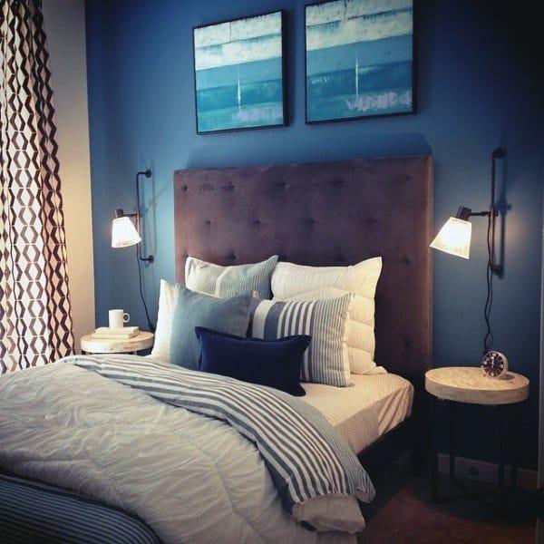 Navy Bedroom Decor