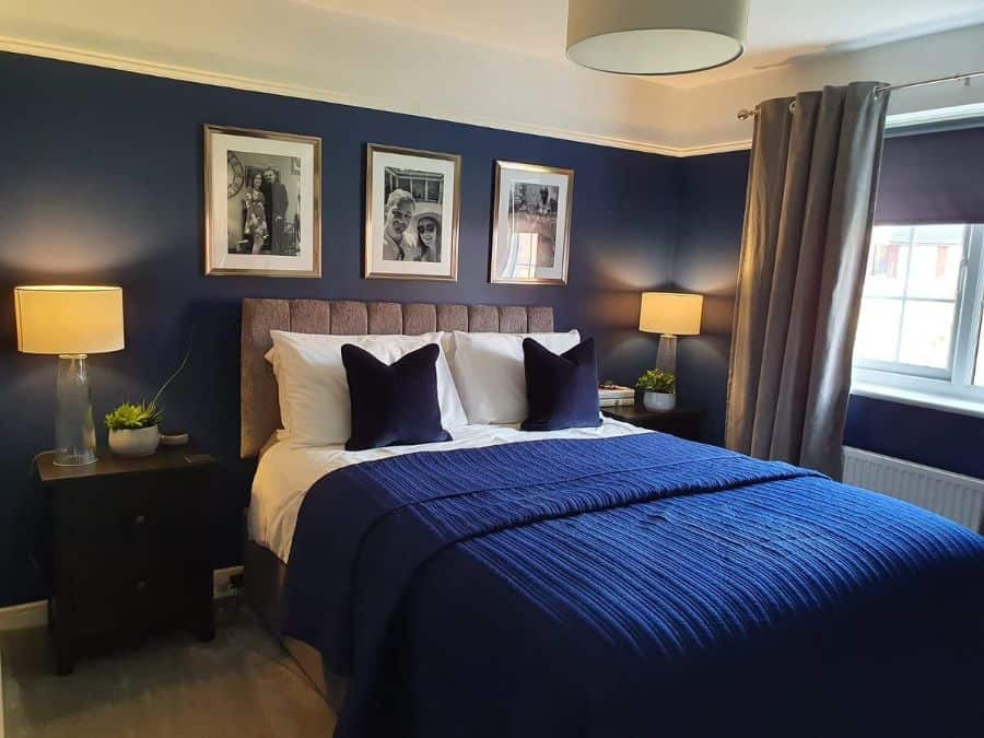 navy blue bedroom ideas sooziegump