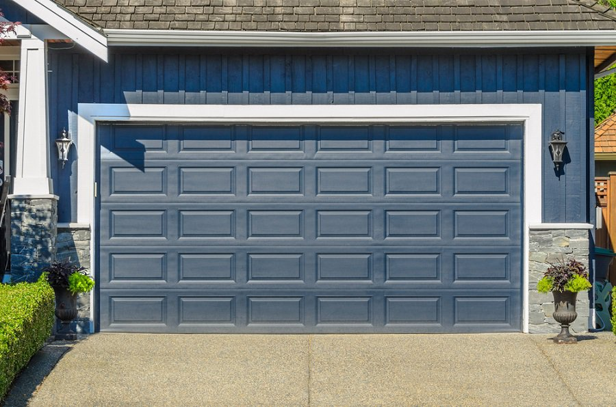 Modern Homes Garage Door Ideas Hardwood Design
