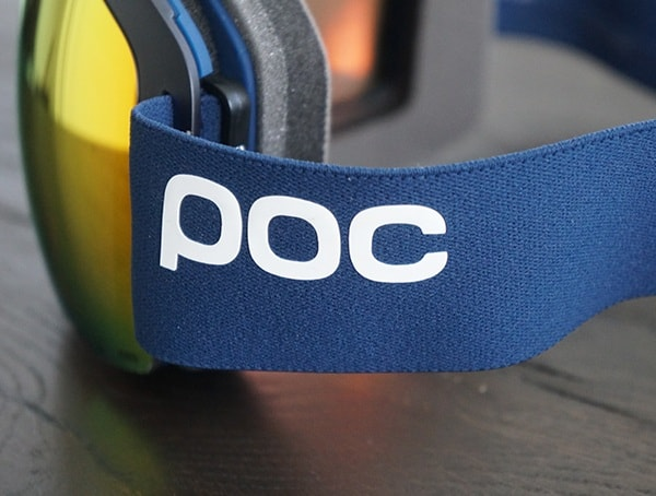 Navy Blue Poc Orb Clarity Goggle Strap Side