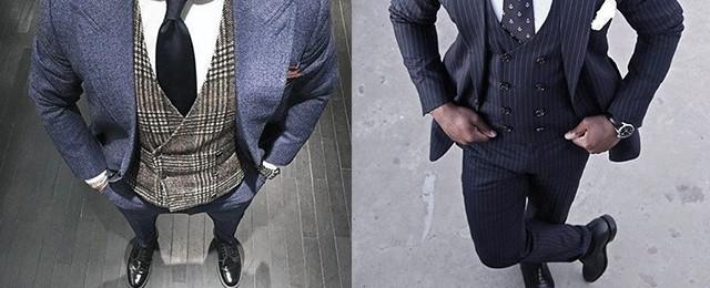 Navy Blue Suit Black Shoes Styles For Men