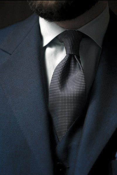 Navy Blue Suit Cool Mens Style Inspiration
