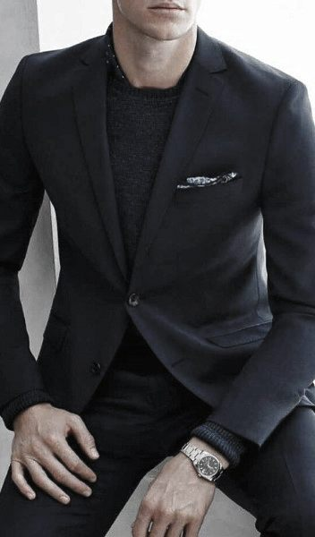 Navy Blue Suits Mens Style Ideas