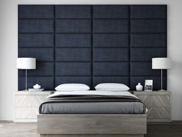 Navy King Bed Headboard Ideas