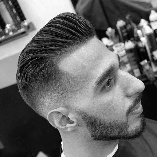 Neat High Taper Fade Hairstyles For Males