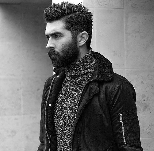 Neat Medium Haircuts For Men With Straight Hair