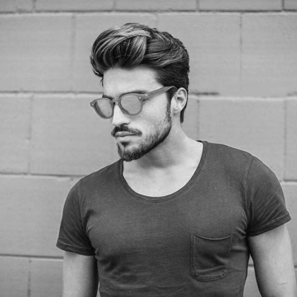 Swell 75 Mens Medium Hairstyles For Thick Hair Manly Cut Ideas Natural Hairstyles Runnerswayorg