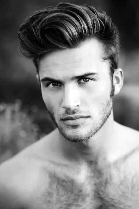 Neat Mens Wavy Styles For Medium Length Hair