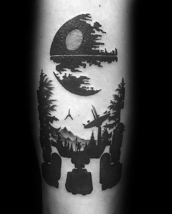 60 Death Star Tattoo Designs For Men Star Wars Ideas,Best Tattoo Designs For Men Small