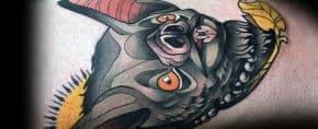 20 Neo Traditional Bat Tattoo Designs For Men – Unique Ideas