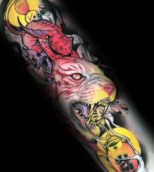 Neo Traditional Coolest Tattoos On Arm For Men