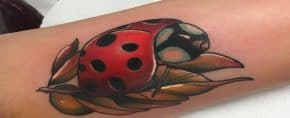 Top 31 Best Ladybug Tattoo Ideas – [2020 Inspiration Guide]