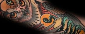 40 Neo Traditional Owl Tattoo Ideas For Men – Bird Designs