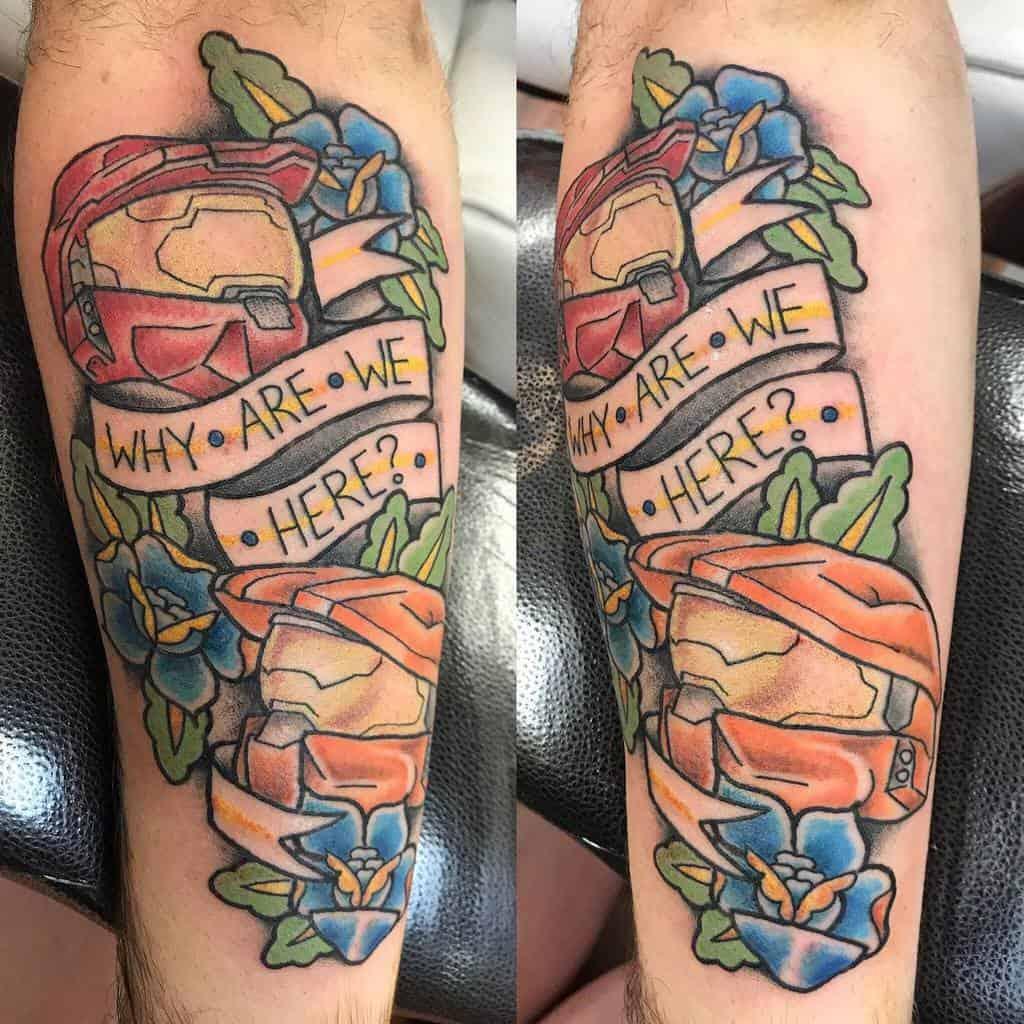 nerd-gamer-red-blue-piece-halo-tattoo-dudubrat