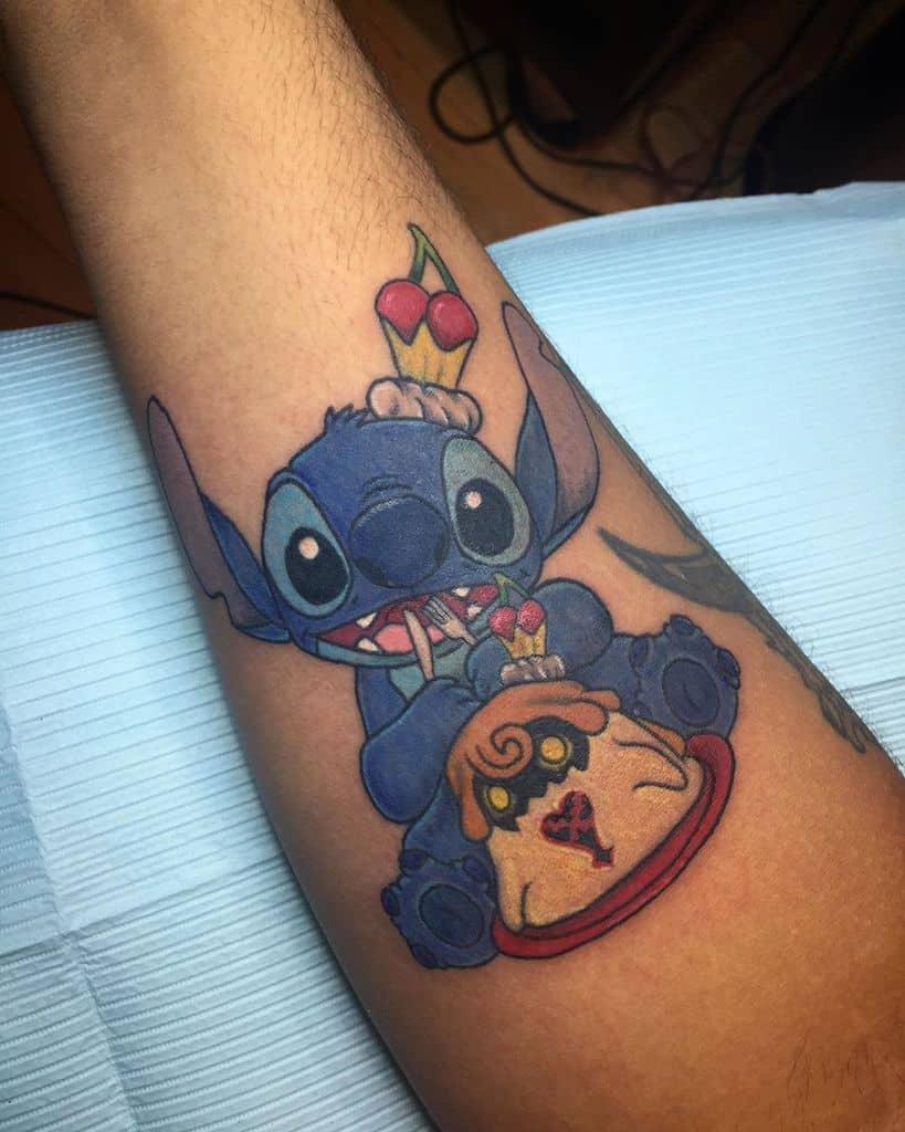 Nerd Stitch Kingdom Hearts Tattoo