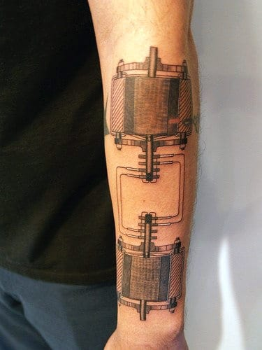 Nerd Tattoos For Guys On Outer Forearm