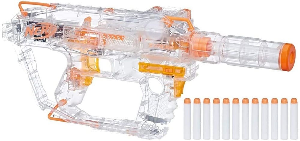 evader modulus nerf motorized light up toy blaster
