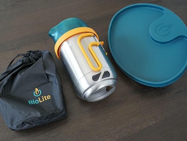 Nesting Portable Biolite Campstove 2 Bundle