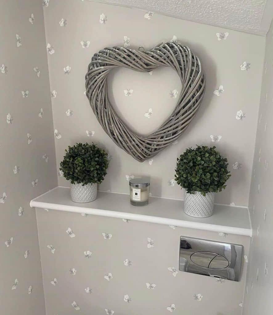 Neutral Bathroom Wallpaper Ideas The Stokes House