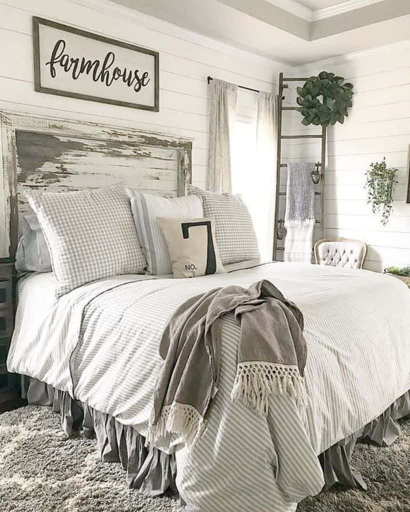 neutral farmhouse bedroom ideas k_lovelyhomes