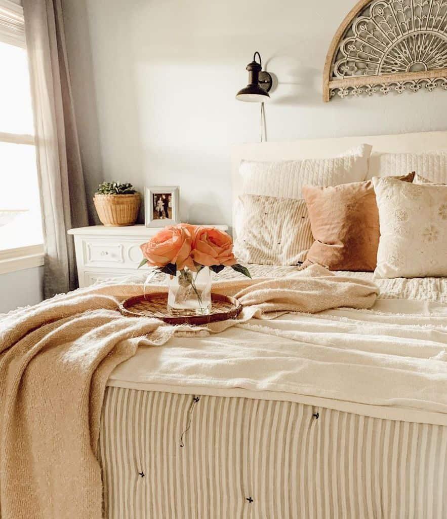 neutral farmhouse bedroom ideas ourdandelionhome