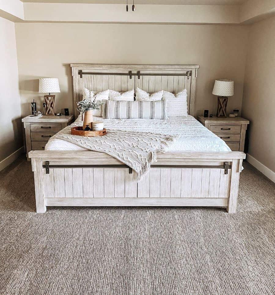 neutral farmhouse bedroom ideas thiscrazylifevlog