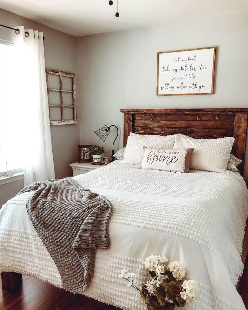 neutral farmhouse bedroom ideas veronicapaigeguzman