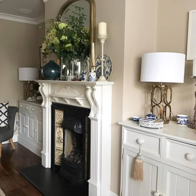 Neutral Interior Mantel Decor Ideas Life With Carolshaw