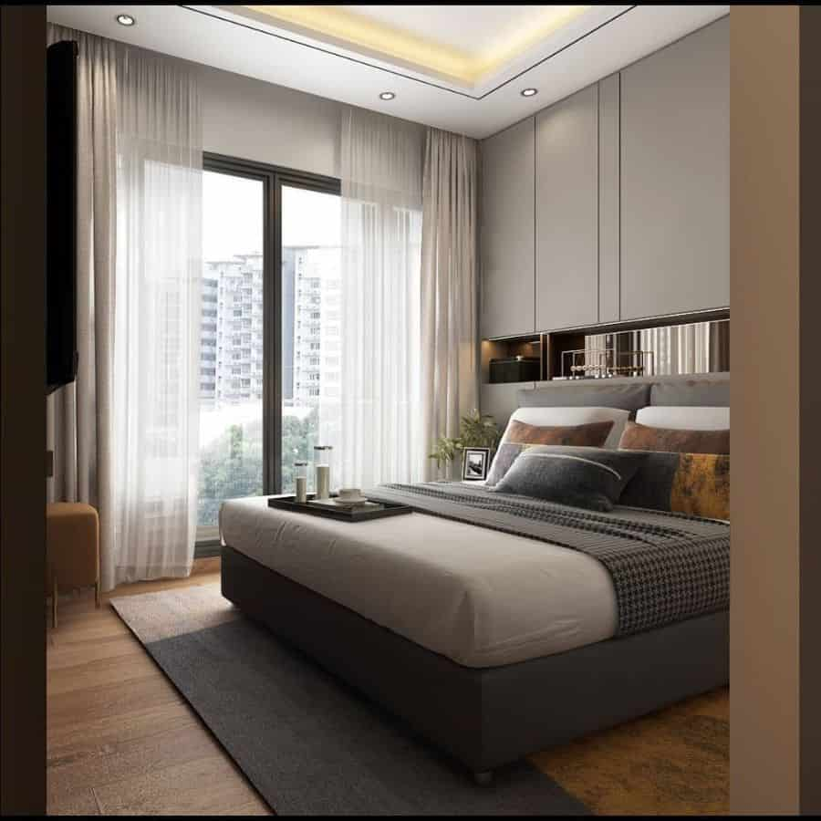 Neutral Modern Bedroom Ideas 1 Shellamuchtar