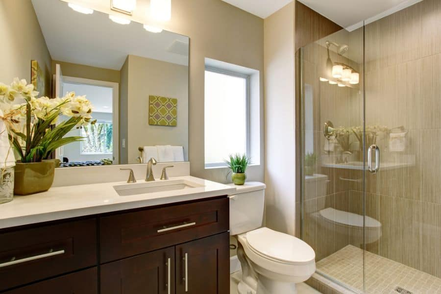 Neutral Small Bathroom Paint Ideas 4