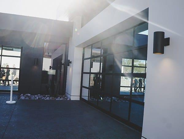 New American Home 2019 Glass Garage Doors