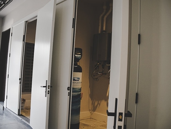 New American Remodel 2019 Garage Utility Closets