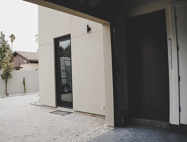 New American Remodel 2019 Main Garage Entry Door