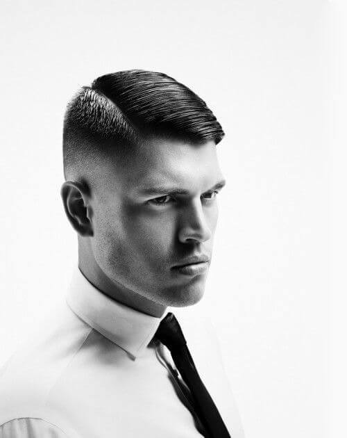 New Comb Over Haircut For Males