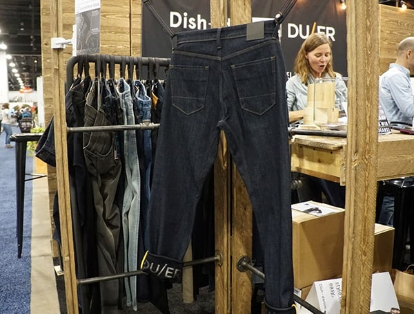 New Duer Jean Pants Strech Waterproof Outdoor Retailer Winter Market 2018