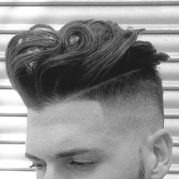 New Stylish Haircuts For Men With Wavy Touch