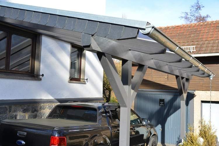 New Wooden Attached Carport Ideas